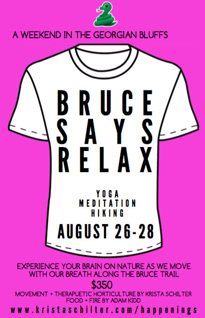bruce august poster